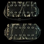 Bare Knuckle Pickups Aftermath Covered Set (6 String, Black Battleworn)
