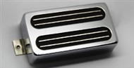 Bare Knuckle Pickups Black Hawk Calibrated Set (6 String, Chrome)