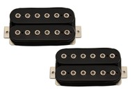 Bare Knuckle Pickups Juggernaut Open Set (6 String, Black)