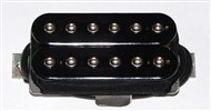 Bare Knuckle Pickups Warpig Set (6 String, Black)