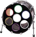 Os Bass Drum Os 6in (White)
