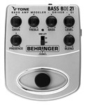 Behringer BDI21 V-Tone Bass Amp Modeler/Direct Recording Preamp/DI Box