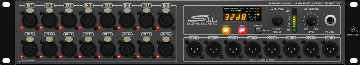 Behringer Digital Snake S16 Main