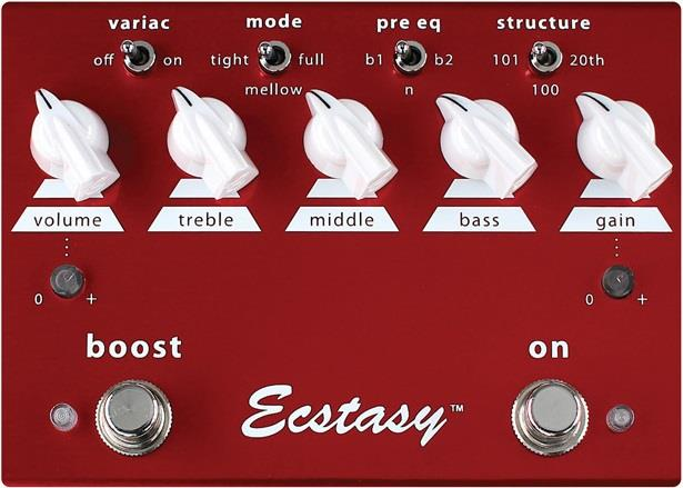 classic hot sale online professional sale Bogner Ecstasy Red Overdrive and Boost Pedal