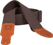 Boss BSC-20-BRN 2-inch Brown Cotton Guitar Strap