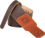 Boss BSL-25-BRN 2.5-inch Brown Premium Leather Guitar Strap