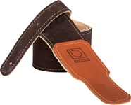 Boss BSS-25-BRN 2.5-inch Brown Suede Guitar Strap