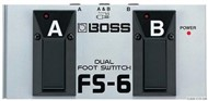 Boss FS-6 Latched & Unlatched Footswitch Pedal