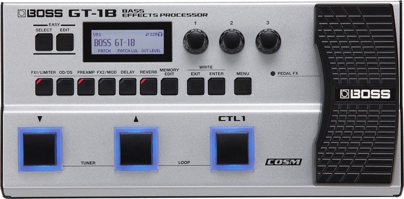 Boss GT-1B Effects Processor Front
