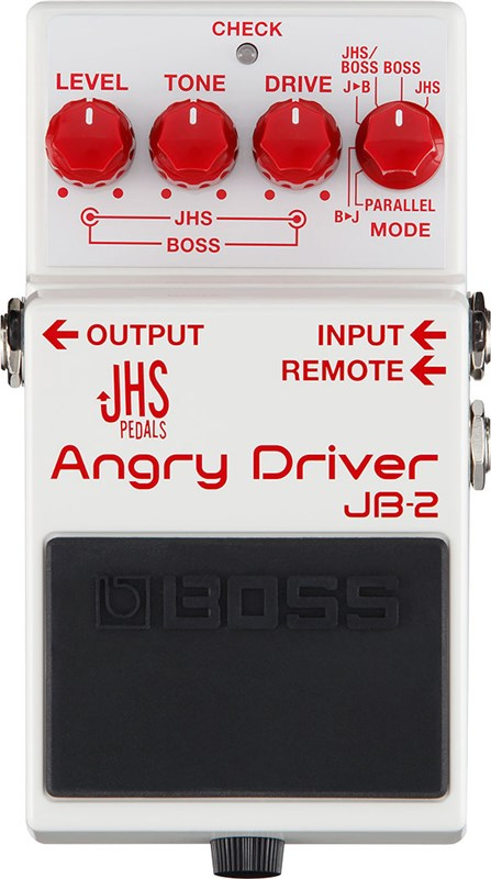 Boss JB-2 Angry Driver Overdrive Pedal Main