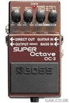 Boss OC-3 Polyphonic Octave Pedal