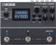 Boss RV-500 Reverb Effects Front