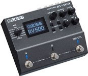 Boss RV-500 Reverb Effects Angle