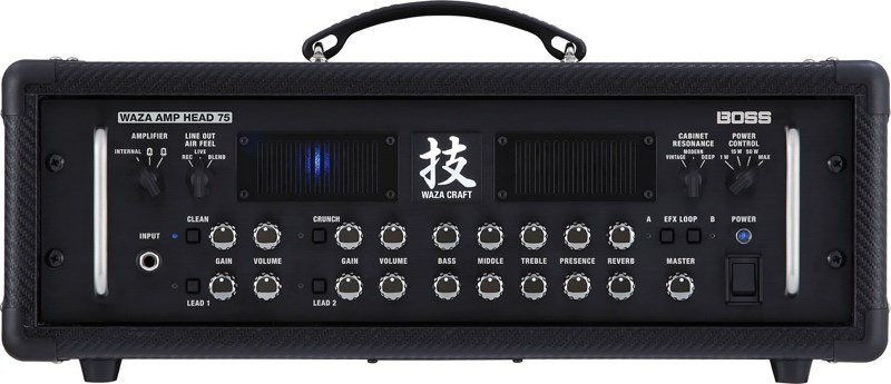 Boss Waza Craft Amp Head 75 Top