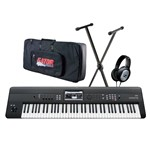 Korg Krome 73 with Bag, Stand and Headphones