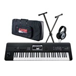 Korg Krome 61 With Bag, Stand and Headphones