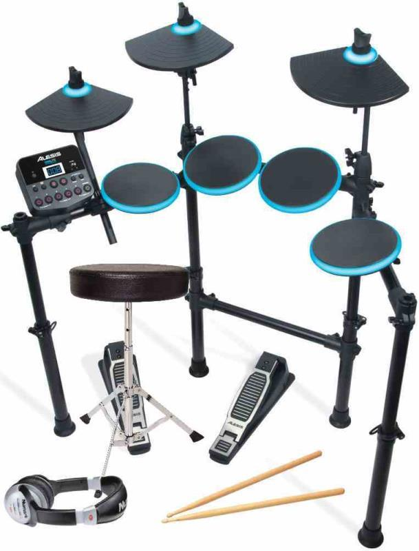 alesis dm lite kit headphones throne sticks electronic drums. Black Bedroom Furniture Sets. Home Design Ideas