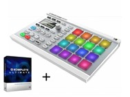 Native Instruments Maschine Mikro MK2 White With Native Instruments Komplete 10 Ultimate