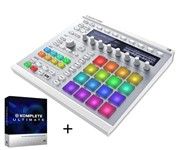 Native Instruments Maschine MK2 White with Native Instruments Komplete 10 Ultimate