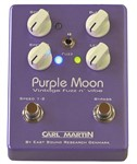 Carl Martin Purple Moon Vibe and Fuzz Pedal