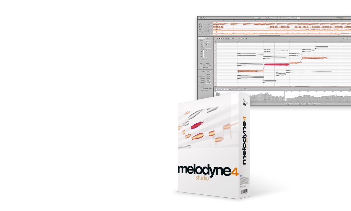 Melodyne 4 box shot