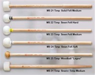 Chalklin MS24 Symphonic Mallets (Sown Felt, Soft)