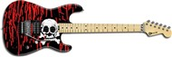 Charvel Pro-Mod Warren DeMartini, Maple, Blood & Skulls