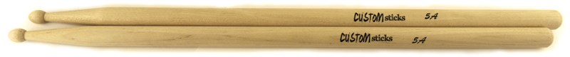 Custom Percussion 5A Wood Tip Drumsticks