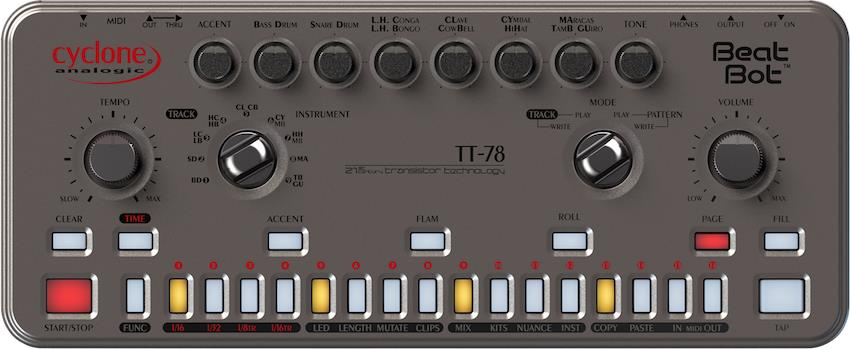 Cyclone Analogic Beat Bot TT78
