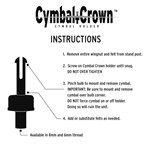 Cymbal Crown, 6mm