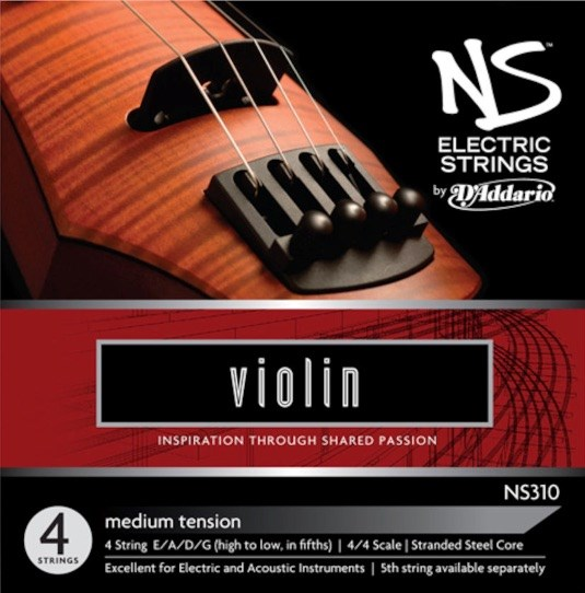 NS Electric Violin String Set