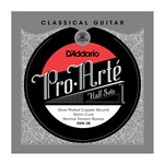 D'Addario SNX-3B  Pro-Arte Silver Plated Copper on Nylon Core Bass Half Set (Extra Hard Tension)
