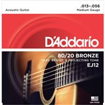 D'Addario EJ12 80/20 Bronze (Medium, 13-56)
