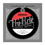 D'Addario CNN-3T Pro-Arte Clear Nylon Treble Half Set (Normal Tension)