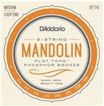 DAddario EFT74 Flat Top Mandolin Strings Packet