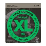D'Addario EHR330 Half Rounds, Extra-Super Light, 8-39
