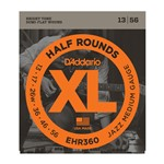 D'Addario EHR360 Half Rounds, Jazz Medium, 13-56