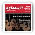 D'Addario EJ24 Phosphor Bronze DADGAD True Medium (13-56)