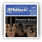 D'Addario EJ37 Phosphor Bronze 12 String Medium Heavy (12-54)