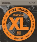 D'Addario EPN110 XL Pure Nickel (Regular Light 10-45)
