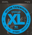 D'Addario ETB92 Nylon Tapewound Bass Medium (50-105)