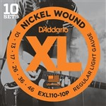D'Addario EXL110 Pro Pack, 10 Sets