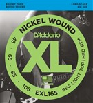D'Addario EXL165 Reg Light Top/Medium Bottom (45-105)
