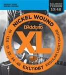 D'Addario EXL110BT Regular Light Balanced Tension (10-46)