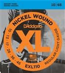 D'Addario EXL110 Nickel Regular Light (10-46)