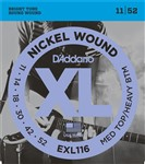 D'Addario EXL116 Medium/Heavy, 11-52