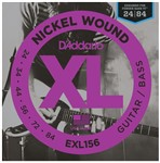 D'Addario EXL156 Nickel Wound Bass VI Strings (24-84)