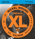 D'Addario EXL160M Medium Scale (50-105)