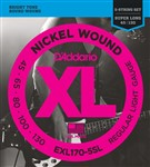 D'Addario EXL170-5SL Super Long Scale 5-String (45-130)