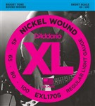 D'Addario EXL170S Short Scale Bass set (45-100)